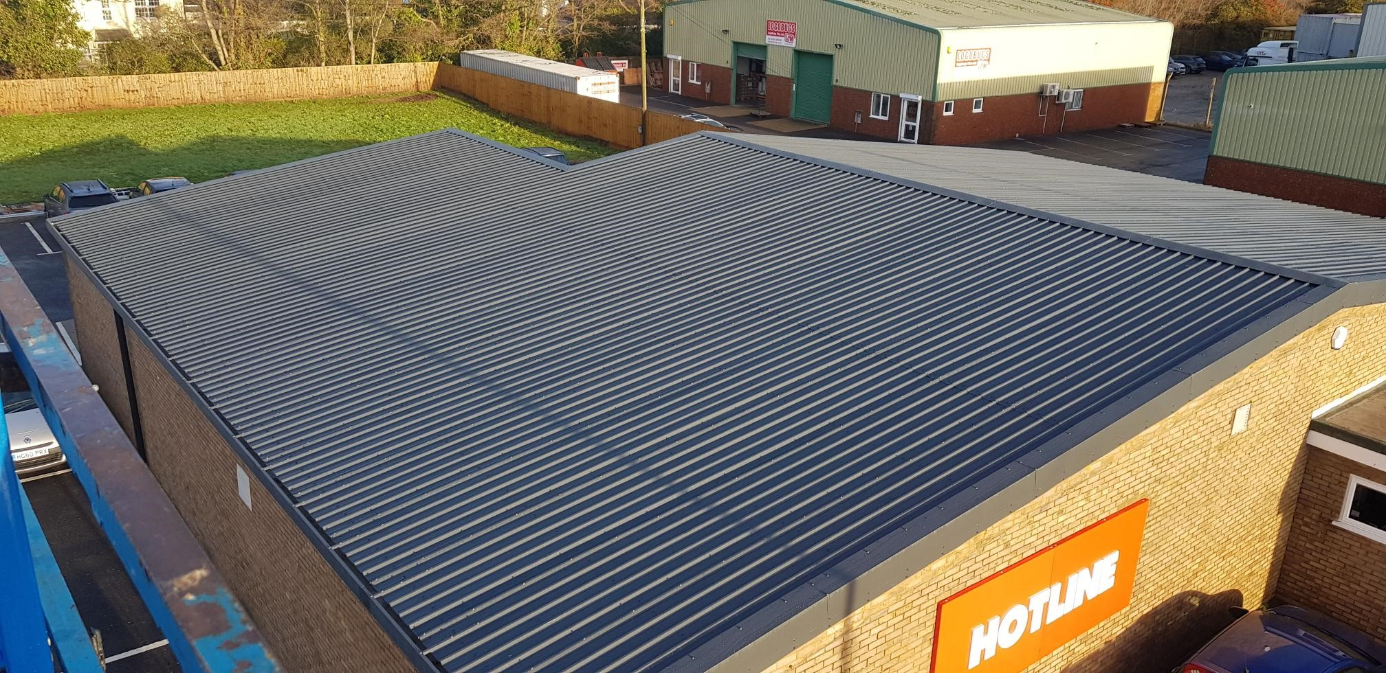 Christchurch Industrial Estate Roofing Project